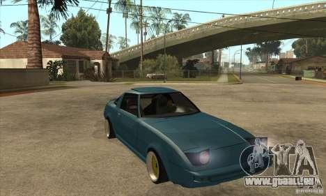Mazda RX7 SA22C pour GTA San Andreas vue arrière