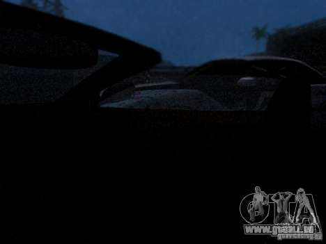 Aston Martin DB9 Volante 2006 pour GTA San Andreas vue de côté
