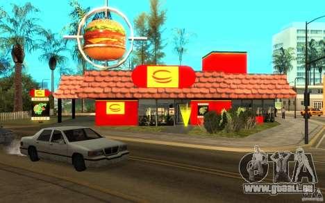 Pumper Nic Mod pour GTA San Andreas troisième écran