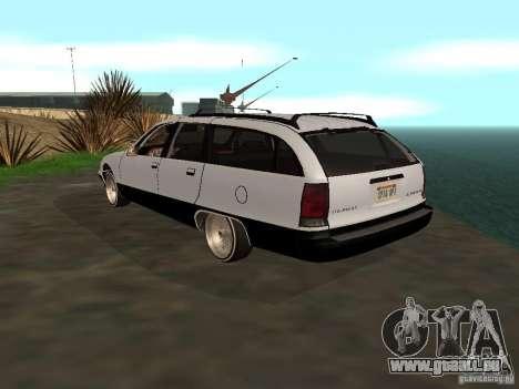 Chevrolet Caprice Wagon 1992 pour GTA San Andreas laissé vue