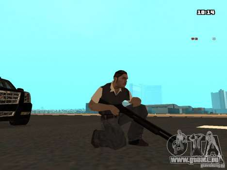 No Chrome Gun pour GTA San Andreas