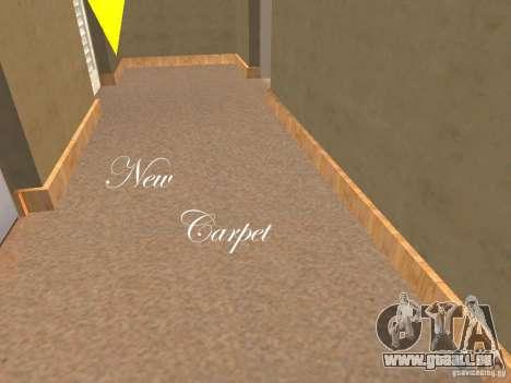 CJ Total House Remodel V 2.0 pour GTA San Andreas troisième écran