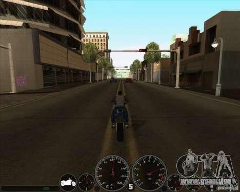 Memphis Speedometer v2.0 pour GTA San Andreas deuxième écran