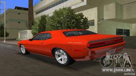 Dodge Challenger pour une vue GTA Vice City de la gauche