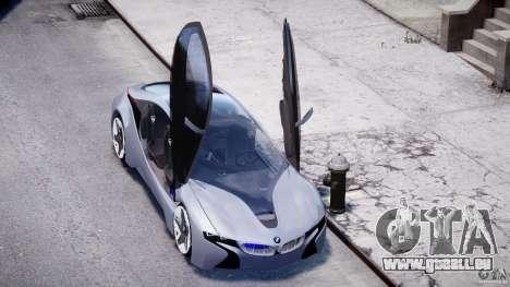 BMW Vision Efficient Dynamics v1.1 für GTA 4 obere Ansicht