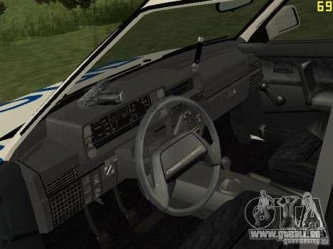 VAZ 21099 DPS pour GTA San Andreas vue de droite