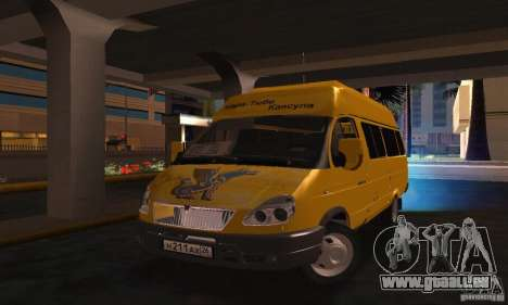 Gazelle 2705 Minibus für GTA San Andreas