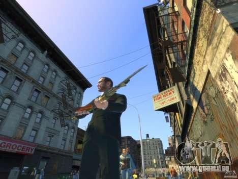 AK-47 pour GTA 4 quatrième écran