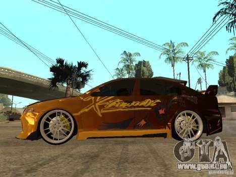 Skoda Octavia II Tuning pour GTA San Andreas laissé vue
