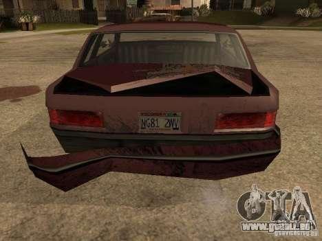 Dommages réalistes pour GTA San Andreas septième écran