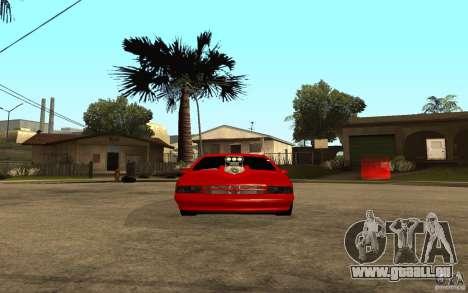 Chevrolet Impala 1995 pour GTA San Andreas vue de droite