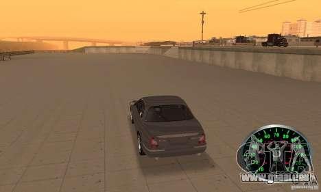 Compteur de vitesse v.2.0 pour GTA San Andreas deuxième écran