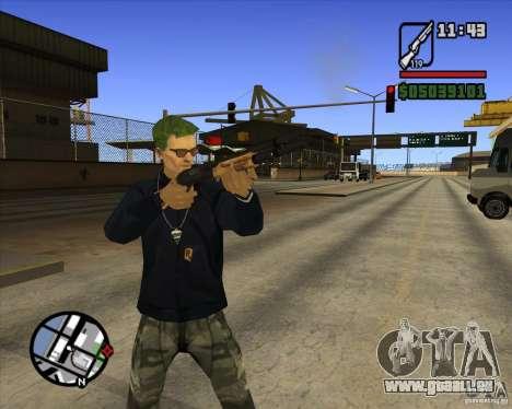 Claude Speed beta4 für GTA San Andreas dritten Screenshot