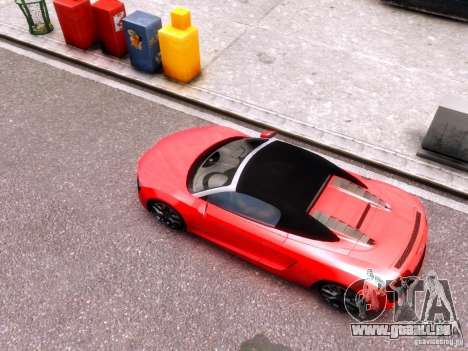 Audi R8 Spyder 5.2 FSI quattro V4 EPM für GTA 4 Rückansicht