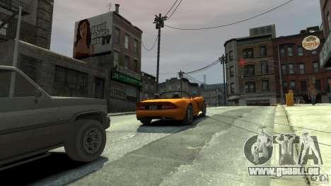 The real Poster Mod für GTA 4 Sekunden Bildschirm