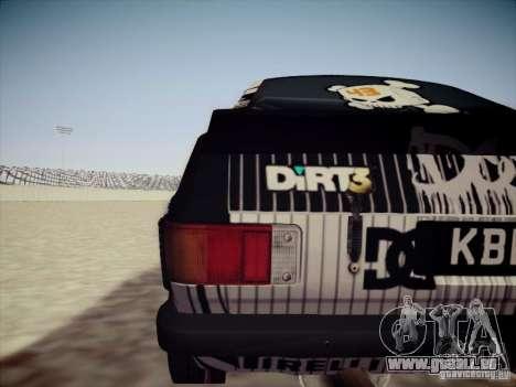 Ford Escort MK2 Gymkhana für GTA San Andreas rechten Ansicht
