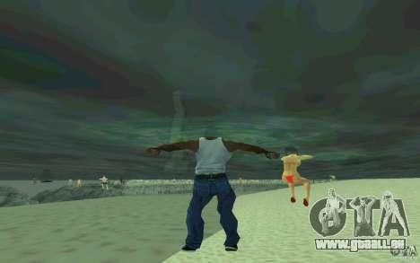Menschen sind in der Lage zu schwimmen für GTA San Andreas her Screenshot