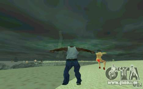 Les gens sont capables de nager pour GTA San Andreas quatrième écran