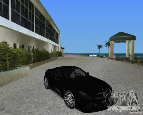 Mercedess Benz SL 65 AMG Black Series für GTA Vice City