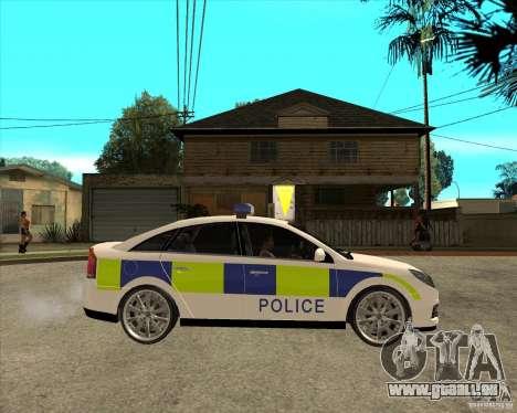 2005 Opel Vectra Police für GTA San Andreas rechten Ansicht