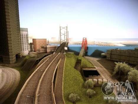 Erhöhte Zeichnung Maschinen und pedov für GTA San Andreas her Screenshot