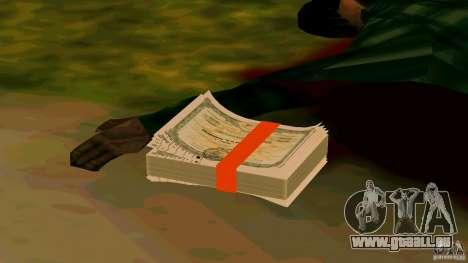 Actions de MMM v2 pour GTA San Andreas troisième écran