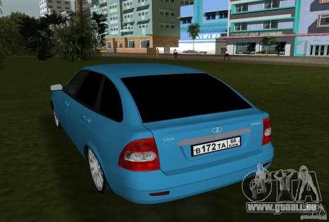 Lada Priora berline avec hayon arrière v2.0 pour une vue GTA Vice City de la droite