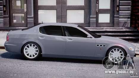 Maserati Quattroporte V für GTA 4 Innen