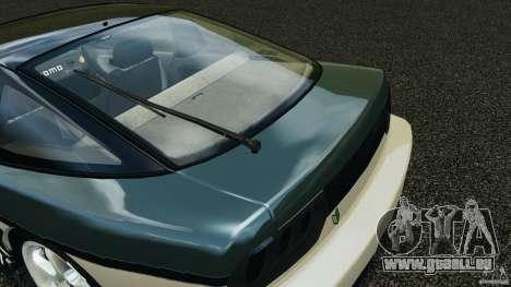 Nissan 240SX Time Attack pour GTA 4 est une vue de dessous