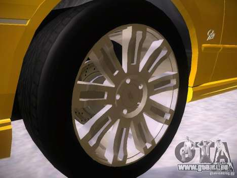 Ford Falcon für GTA San Andreas Unteransicht