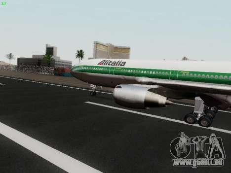 McDonell Douglas DC-10-30 Alitalia pour GTA San Andreas laissé vue