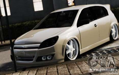 Opel Astra pour GTA 4 Vue arrière