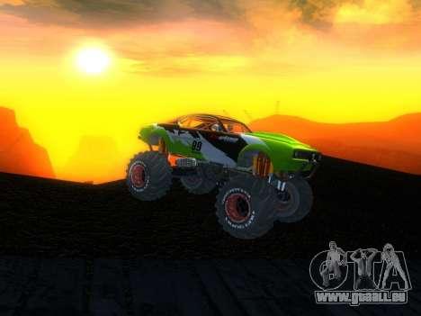 Fire Ball für GTA San Andreas