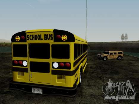 International Harvester B-Series 1959 School Bus für GTA San Andreas Rückansicht