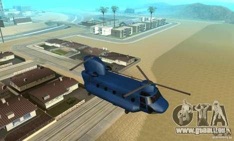 CH-47 Chinook ver 1.2 für GTA San Andreas Seitenansicht