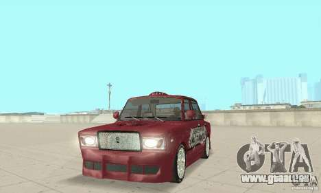 VAZ 2107 Ex Tuning pour GTA San Andreas
