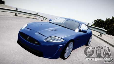 Jaguar XKR-S 2012 pour GTA 4 est un droit