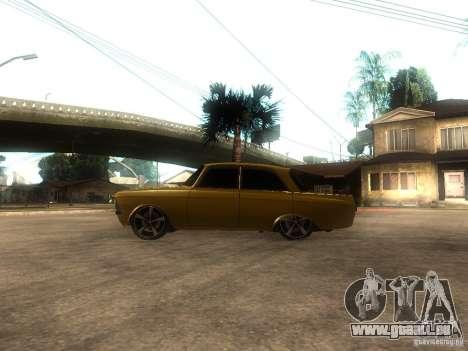 Moskvitch 412 Tuning pour GTA San Andreas laissé vue