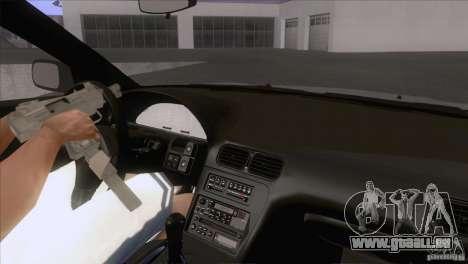 Nissan Sil80 pour GTA San Andreas vue intérieure