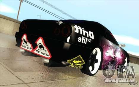 Forsage pour GTA San Andreas vue arrière