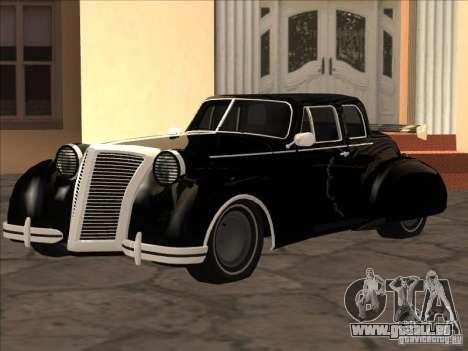 Zaibatsu Z-Art von GTA2 für GTA San Andreas linke Ansicht