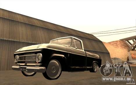 Chevrolet C-10 Fixxa pour GTA San Andreas vue intérieure