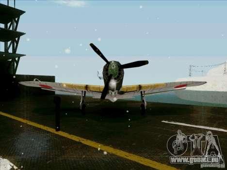 Avions japonais pour GTA San Andreas vue arrière