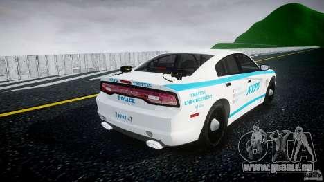 Dodge Charger NYPD 2012 [ELS] pour GTA 4 est un côté