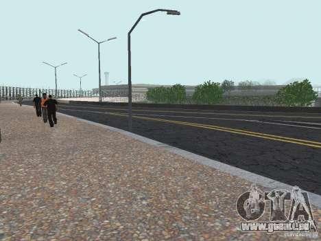 New Airport San Fierro pour GTA San Andreas troisième écran