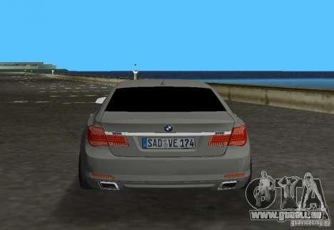 BMW 750 Li für GTA Vice City rechten Ansicht