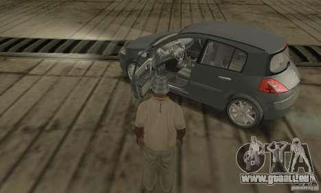 Renault Megane II 2005 pour GTA San Andreas vue arrière