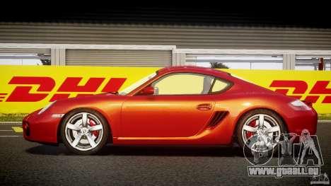 Porsche Cayman S v2 pour GTA 4 est une gauche
