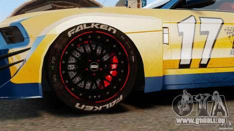 Ford Mustang 2010 GT1 für GTA 4 Rückansicht