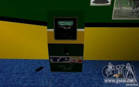 Nouveau bureau de Bukmejkerskaâ pour GTA San Andreas deuxième écran